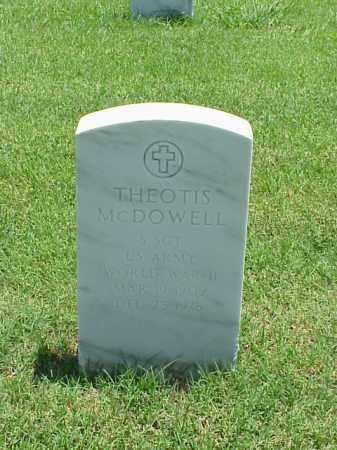 MCDOWELL (VETERAN WWII), THEOTIS - Pulaski County, Arkansas | THEOTIS MCDOWELL (VETERAN WWII) - Arkansas Gravestone Photos