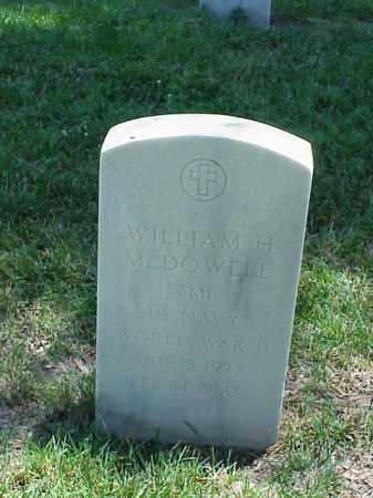 MCDOWELL (VETERAN WWII), WILLIAM H - Pulaski County, Arkansas | WILLIAM H MCDOWELL (VETERAN WWII) - Arkansas Gravestone Photos