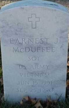 MCDUFFEE (VETERAN VIET), EARNEST J - Pulaski County, Arkansas | EARNEST J MCDUFFEE (VETERAN VIET) - Arkansas Gravestone Photos