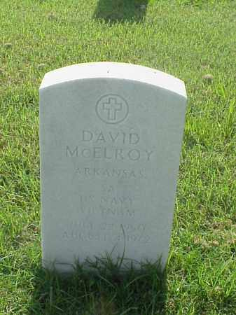 MCELROY (VETERAN VIET), DAVID - Pulaski County, Arkansas | DAVID MCELROY (VETERAN VIET) - Arkansas Gravestone Photos