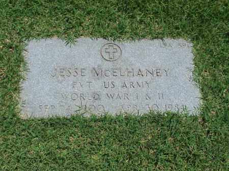 MCELHANEY (VETERAN 2 WARS), JESSE - Pulaski County, Arkansas | JESSE MCELHANEY (VETERAN 2 WARS) - Arkansas Gravestone Photos