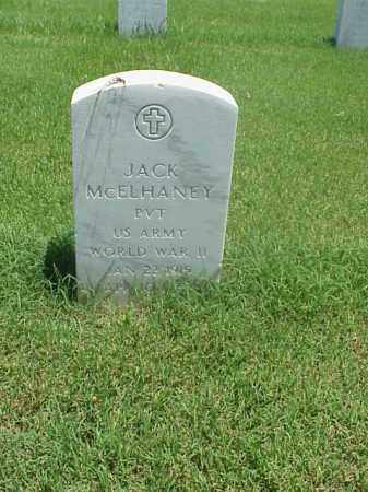 MCELHANEY (VETERAN WWII), JACK - Pulaski County, Arkansas | JACK MCELHANEY (VETERAN WWII) - Arkansas Gravestone Photos