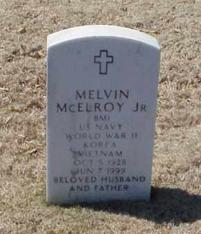 MCELROY, JR (VETERAN 3 WARS), MELVIN - Pulaski County, Arkansas | MELVIN MCELROY, JR (VETERAN 3 WARS) - Arkansas Gravestone Photos