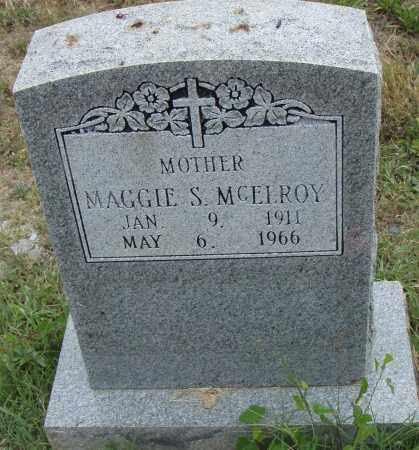 MCELROY, MAGGIE S. - Pulaski County, Arkansas | MAGGIE S. MCELROY - Arkansas Gravestone Photos