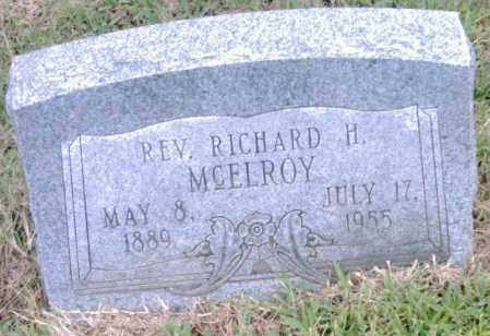 MCELROY, REV., RICHARD H. - Pulaski County, Arkansas | RICHARD H. MCELROY, REV. - Arkansas Gravestone Photos