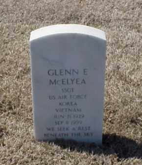 MCELYEA (VETERAN 2 WARS), GLENN E - Pulaski County, Arkansas | GLENN E MCELYEA (VETERAN 2 WARS) - Arkansas Gravestone Photos