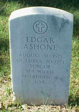 MCFADDEN, EDGAR ASHONE - Pulaski County, Arkansas | EDGAR ASHONE MCFADDEN - Arkansas Gravestone Photos