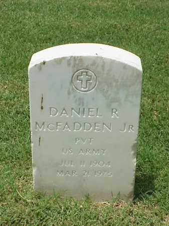 MCFADDEN, JR (VETERAN WWII), DANIEL R - Pulaski County, Arkansas | DANIEL R MCFADDEN, JR (VETERAN WWII) - Arkansas Gravestone Photos