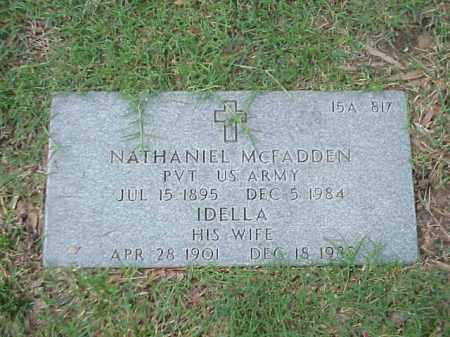 MCFADDEN, IDELLA - Pulaski County, Arkansas | IDELLA MCFADDEN - Arkansas Gravestone Photos