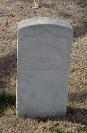 MCFADDEN (VETERAN UNION), ANDERSON - Pulaski County, Arkansas | ANDERSON MCFADDEN (VETERAN UNION) - Arkansas Gravestone Photos