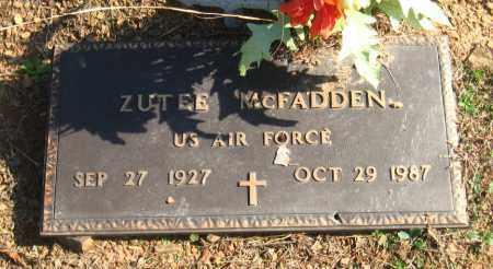 MCFADDEN  (VETERAN), ZUTEE - Pulaski County, Arkansas | ZUTEE MCFADDEN  (VETERAN) - Arkansas Gravestone Photos