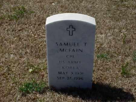 MCFAIN (VETERAN KOR), SAMUEL T - Pulaski County, Arkansas | SAMUEL T MCFAIN (VETERAN KOR) - Arkansas Gravestone Photos