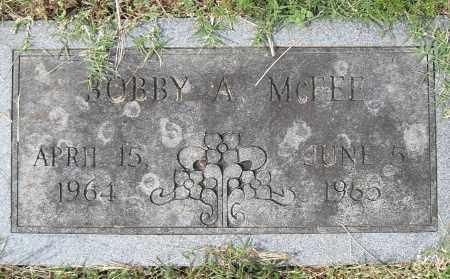 MCFEE, BOBBY A - Pulaski County, Arkansas | BOBBY A MCFEE - Arkansas Gravestone Photos