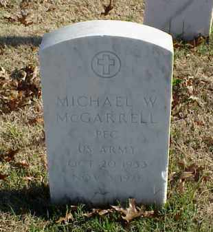 MCGARRELL (VETERAN), MICHAEL W - Pulaski County, Arkansas | MICHAEL W MCGARRELL (VETERAN) - Arkansas Gravestone Photos