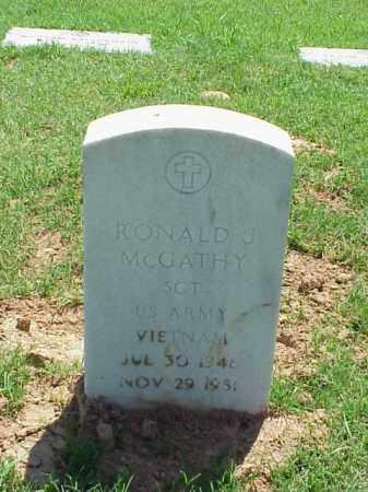 MCGATHY (VETERAN VIET), RONALD J - Pulaski County, Arkansas | RONALD J MCGATHY (VETERAN VIET) - Arkansas Gravestone Photos