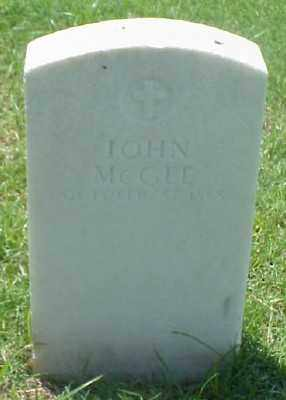 MCGEE (VETERAN UNION), JOHN - Pulaski County, Arkansas | JOHN MCGEE (VETERAN UNION) - Arkansas Gravestone Photos