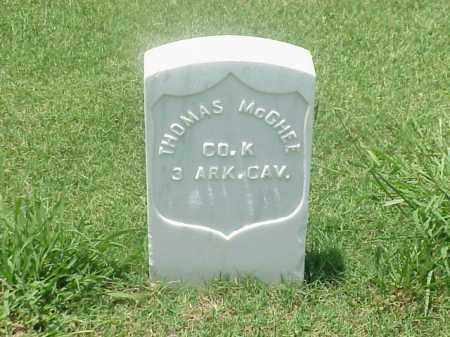 MCGHEE (VETERAN UNION), THOMAS - Pulaski County, Arkansas | THOMAS MCGHEE (VETERAN UNION) - Arkansas Gravestone Photos