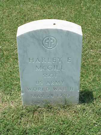 MCGILL (VETERAN WWII), HARLEY E - Pulaski County, Arkansas | HARLEY E MCGILL (VETERAN WWII) - Arkansas Gravestone Photos