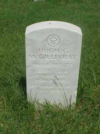 MCGILLIVRAY (VETERAN WWI), HUGH G - Pulaski County, Arkansas | HUGH G MCGILLIVRAY (VETERAN WWI) - Arkansas Gravestone Photos