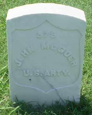 MCGOER (VETERAN UNION), JOHN - Pulaski County, Arkansas | JOHN MCGOER (VETERAN UNION) - Arkansas Gravestone Photos