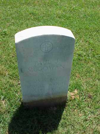MCGOWAN (VETERAN WWII), PAUL J - Pulaski County, Arkansas | PAUL J MCGOWAN (VETERAN WWII) - Arkansas Gravestone Photos