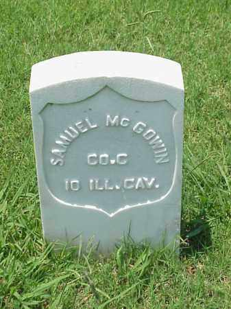 MCGOWIN (VETERAN UNION), SAMUEL - Pulaski County, Arkansas | SAMUEL MCGOWIN (VETERAN UNION) - Arkansas Gravestone Photos