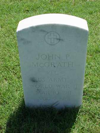 MCGRATH (VETERAN WWII), JOHN P - Pulaski County, Arkansas | JOHN P MCGRATH (VETERAN WWII) - Arkansas Gravestone Photos