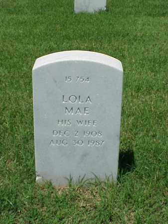 MCGRAW, LOLA MAE - Pulaski County, Arkansas | LOLA MAE MCGRAW - Arkansas Gravestone Photos