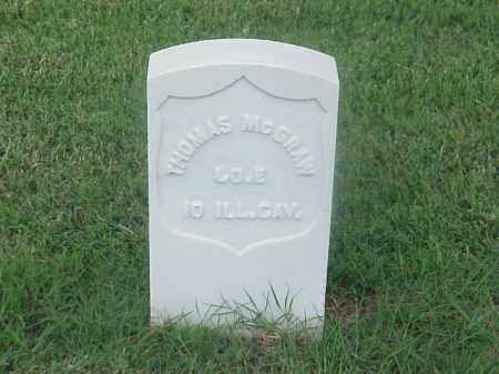 MCGRAW (VETERAN UNION), THOMAS - Pulaski County, Arkansas | THOMAS MCGRAW (VETERAN UNION) - Arkansas Gravestone Photos
