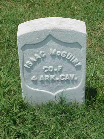 MCGUIRE (VETERAN UNION), ISAAC - Pulaski County, Arkansas | ISAAC MCGUIRE (VETERAN UNION) - Arkansas Gravestone Photos