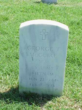 MCGUIRE (VETERAN VIET), GEORGE T - Pulaski County, Arkansas | GEORGE T MCGUIRE (VETERAN VIET) - Arkansas Gravestone Photos