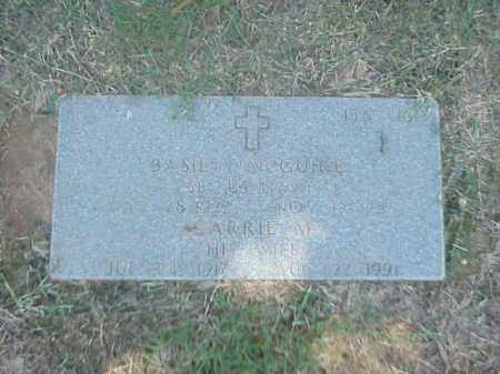 MCGUIRE, CARRIE M - Pulaski County, Arkansas | CARRIE M MCGUIRE - Arkansas Gravestone Photos