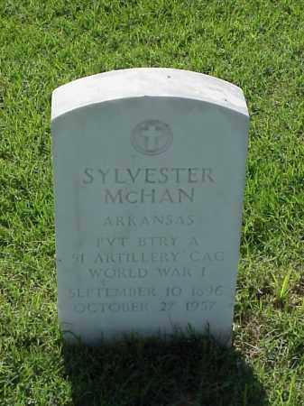 MCHAN (VETERAN WWI), SYLVESTER - Pulaski County, Arkansas | SYLVESTER MCHAN (VETERAN WWI) - Arkansas Gravestone Photos