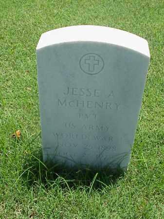 MCHENRY (VETERAN WWI), JESSE A - Pulaski County, Arkansas | JESSE A MCHENRY (VETERAN WWI) - Arkansas Gravestone Photos