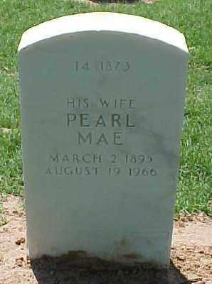 MCHUGHES, PEARL MAE - Pulaski County, Arkansas | PEARL MAE MCHUGHES - Arkansas Gravestone Photos
