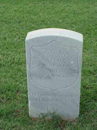 MCILNAY (VETERAN SAW), ARTHUR G - Pulaski County, Arkansas | ARTHUR G MCILNAY (VETERAN SAW) - Arkansas Gravestone Photos