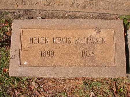 MCILWAIN, HELEN - Pulaski County, Arkansas | HELEN MCILWAIN - Arkansas Gravestone Photos