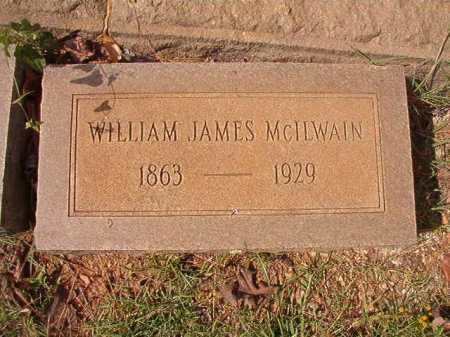 MCILWAIN, WILLIAM JAMES - Pulaski County, Arkansas | WILLIAM JAMES MCILWAIN - Arkansas Gravestone Photos