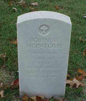 MCINTOSH (VETERAN WWI), JOHN R - Pulaski County, Arkansas | JOHN R MCINTOSH (VETERAN WWI) - Arkansas Gravestone Photos