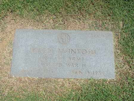 MCINTOSH (VETERAN WWII), HAZEL - Pulaski County, Arkansas | HAZEL MCINTOSH (VETERAN WWII) - Arkansas Gravestone Photos