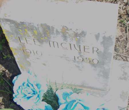 MCIVER, LEE - Pulaski County, Arkansas | LEE MCIVER - Arkansas Gravestone Photos
