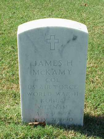 MCKAMEY (VETERAN 3 WARS), JAMES H - Pulaski County, Arkansas | JAMES H MCKAMEY (VETERAN 3 WARS) - Arkansas Gravestone Photos