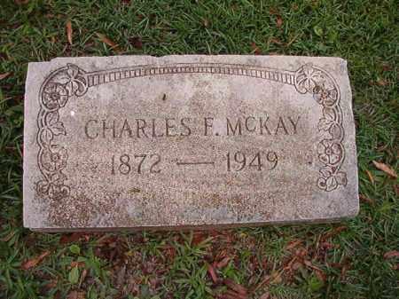 MCKAY, CHARLES F - Pulaski County, Arkansas | CHARLES F MCKAY - Arkansas Gravestone Photos