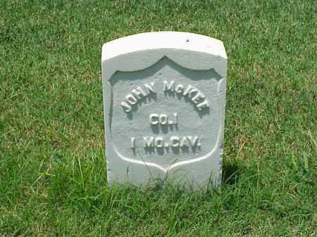 MCKEE (VETERAN UNION), JOHN - Pulaski County, Arkansas | JOHN MCKEE (VETERAN UNION) - Arkansas Gravestone Photos