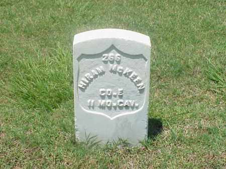 MCKEEN (VETERAN UNION), HIRAM - Pulaski County, Arkansas | HIRAM MCKEEN (VETERAN UNION) - Arkansas Gravestone Photos