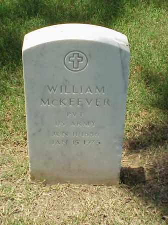 MCKEEVER (VETERAN WWI), WILLIAM - Pulaski County, Arkansas | WILLIAM MCKEEVER (VETERAN WWI) - Arkansas Gravestone Photos