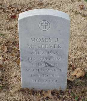 MCKEEVER (VETERAN WWII), MOSES J - Pulaski County, Arkansas | MOSES J MCKEEVER (VETERAN WWII) - Arkansas Gravestone Photos
