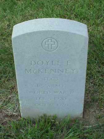 MCKENNEY (VETERAN WWII), DOYLE E - Pulaski County, Arkansas | DOYLE E MCKENNEY (VETERAN WWII) - Arkansas Gravestone Photos