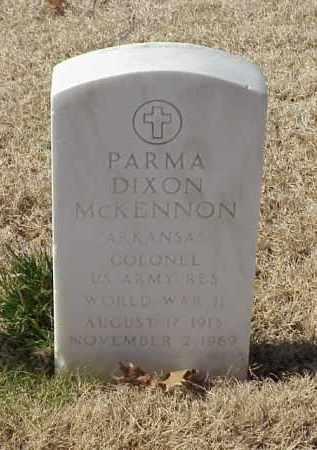 MCKENNON (VETERAN WWII), PARMA DIXON - Pulaski County, Arkansas | PARMA DIXON MCKENNON (VETERAN WWII) - Arkansas Gravestone Photos