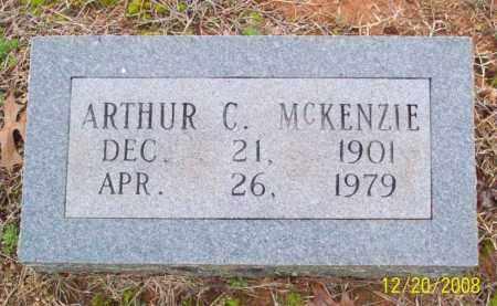 MCKENZIE, ARTHUR COLBURN - Pulaski County, Arkansas | ARTHUR COLBURN MCKENZIE - Arkansas Gravestone Photos